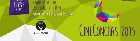 Cinema ao ar livre na Quinta das Conchas, em Lisboa