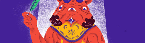 Valient Thorr na segunda Rock Monster no Musicbox