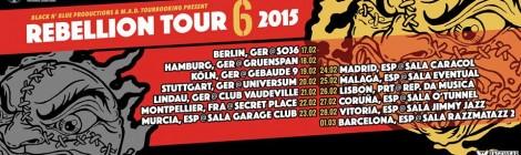 Rebellion Tour passa por Portugal em 2015