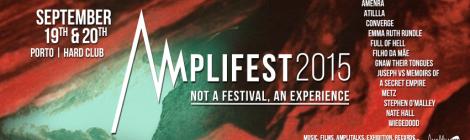 Novas confirmações para o Amplifest