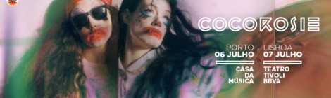 CocoRosie actuam em Portugal em Julho