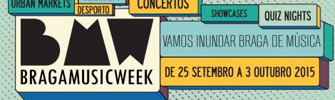 Braga Music Week dá hoje o pontapé de saída
