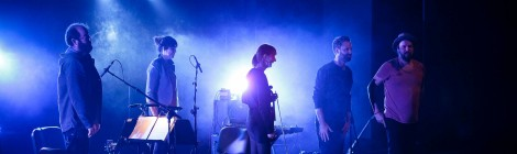A Winged Victory For The Sullen no Auditório Adelina Caravana (04/12/2015)