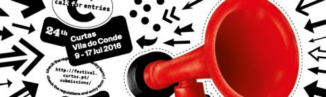 Abertas as inscrições de filmes para a 24ª edição do Curtas Vila do Conde